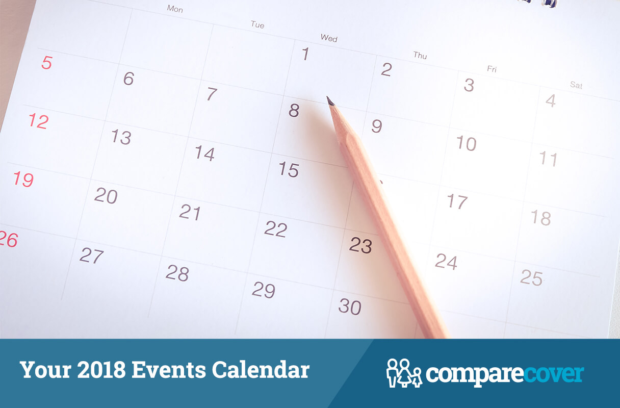 Your 2018 Events Calendar