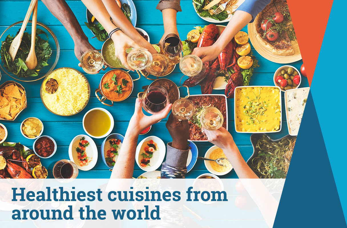 Healthiest Cuisines Around the World: Did You Know?