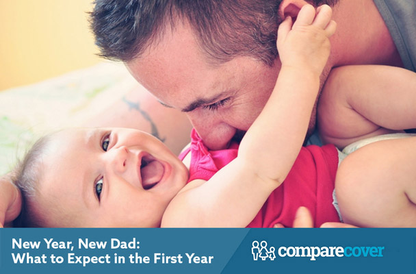 New Year, New Dad: What to Expect in the First Year