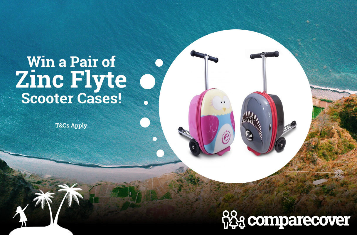 Win a Pair of Zinc Flyte Scooter Cases!