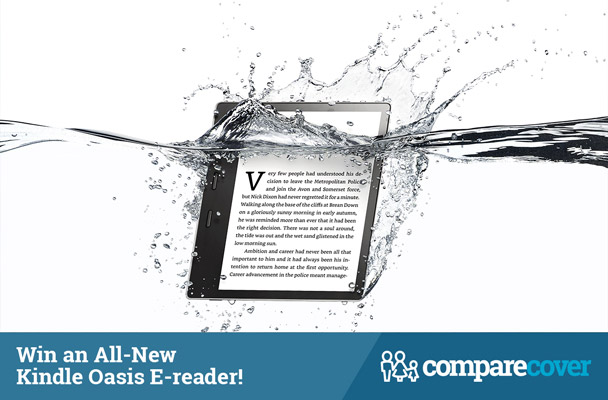 Win an All-New Kindle Oasis E-reader!